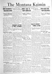 The Montana Kaimin, December 6, 1921