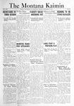 The Montana Kaimin, December 9, 1921