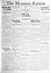 The Montana Kaimin, December 16, 1921