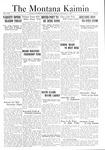 The Montana Kaimin, January 6, 1922