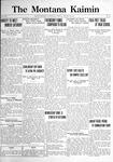 The Montana Kaimin, January 10, 1922