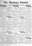 The Montana Kaimin, January 13, 1922