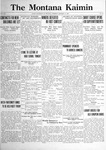 The Montana Kaimin, January 17, 1922