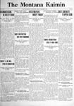 The Montana Kaimin, January 20, 1922