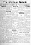 The Montana Kaimin, January 24, 1922