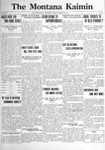 The Montana Kaimin, January 27, 1922
