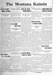 The Montana Kaimin, January 31, 1922