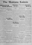 The Montana Kaimin, February 7, 1922