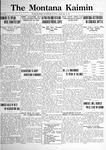 The Montana Kaimin, February 14, 1922