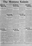 The Montana Kaimin, February 21, 1922