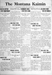 The Montana Kaimin, February 24, 1922