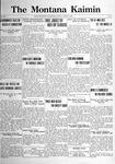 The Montana Kaimin, March 7, 1922