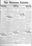 The Montana Kaimin, March 21, 1922