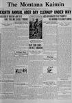 The Montana Kaimin, March 26, 1922
