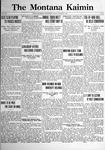 The Montana Kaimin, March 31, 1922