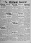 The Montana Kaimin, April 4, 1922