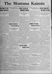 The Montana Kaimin, April 7, 1922