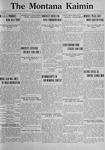 The Montana Kaimin, April 11, 1922