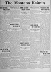 The Montana Kaimin, April 14, 1922