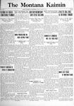 The Montana Kaimin, April 21, 1922