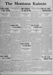 The Montana Kaimin, April 28, 1922