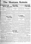 The Montana Kaimin, May 5, 1922