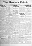 The Montana Kaimin, May 9, 1922