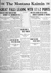 The Montana Kaimin, May 11, 1922