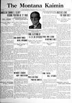 The Montana Kaimin, May 19, 1922