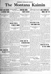 The Montana Kaimin, June 2, 1922