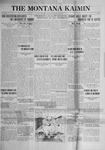 The Montana Kaimin, October 3, 1922
