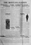 The Montana Kaimin, October 6, 1922