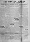 The Montana Kaimin, October 10, 1922