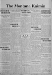 The Montana Kaimin, October 13, 1922
