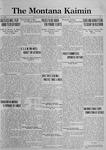 The Montana Kaimin, October 20, 1922