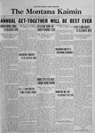The Montana Kaimin, October 24, 1922