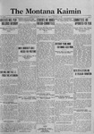 The Montana Kaimin, October 27, 1922
