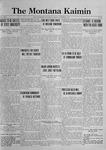 The Montana Kaimin, November 3, 1922