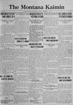The Montana Kaimin, December 1, 1922