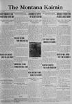 The Montana Kaimin, December 8, 1922