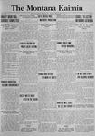 The Montana Kaimin, December 12, 1922