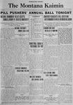 The Montana Kaimin, January 5, 1923