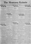 The Montana Kaimin, January 9, 1923