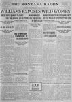 The Montana Kaimin, January 16, 1923