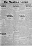 The Montana Kaimin, January 19, 1923
