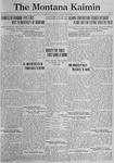 The Montana Kaimin, January 23, 1923