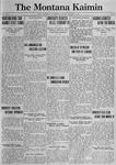The Montana Kaimin, January 30, 1923