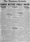 The Montana Kaimin, February 2, 1923