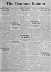 The Montana Kaimin, February 13, 1923