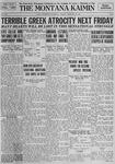 The Montana Kaimin, February 20, 1923